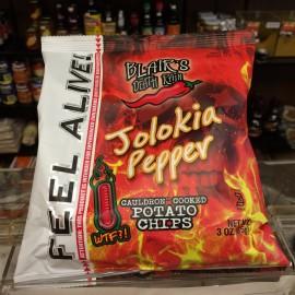 Blair's Death Rain Jolokia Potato Chips 85g
