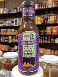 Jamaican Jerk Smokey BBQ Sauce 355ml