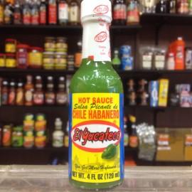 El Yucateco Hot Habanero Green Sauce 120ml