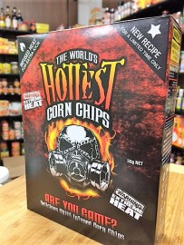 Worlds Hottest Corn Chips 50g