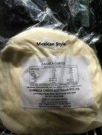 Oaxaca Style Mexican Cheese 900g