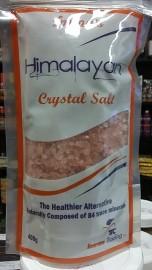 Pink Salt Himalayan (Course Crystals) 400g