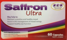 Saffron Tablets 120 Capsules