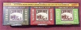 Wood Smoke Flavours 3 X 147ml Cups